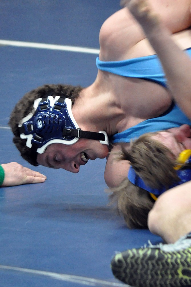 Grangeville's Noah Kaschmitter and 15 other local wrestlers qualified for state competition last week.