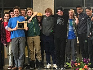 THE HRV boys team placed second during last weekend's OISRA Nordic state championships at Mount Bachelor.