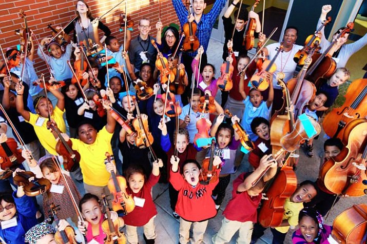 BRAVO Youth Orchestra and Edna Vasquez perform Saturday at the art center.