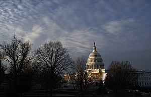 In this Feb. 17  file photo, the Capitol is seen at sunup in Washington. House Republicans this week released their long-awaited plan for unraveling former President Barack Obama's health care law.