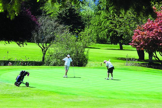 Dallas Golf Club is a nine-hole course.
