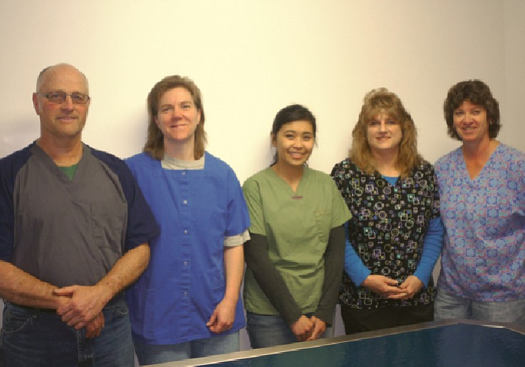 Dr. Virgil Frei, Dr. Kim Heezen, Dr. Pam Comini, Lee Anne Gabica, Lynn Gehring, the staff at Ferdinand Veterinary Clinic.