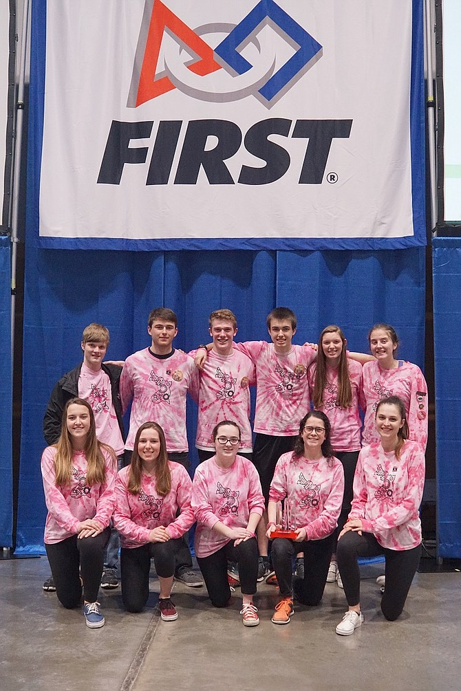 Hood River Valley High's Steelheads FTC Robotics team is headed to Worlds and fundraising to make the trip.