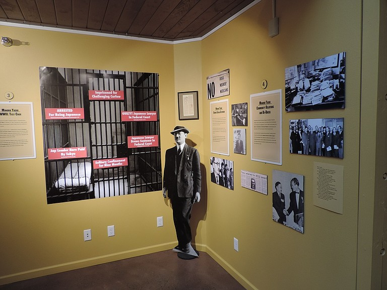 LEGACY of Minoru Yasui is examined in photos, timeline, letters, documents and other items at The History Museum of Hood River County through April 3.