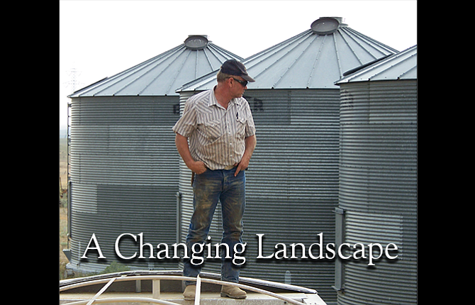 Alan von Borstel is a wheat farmer and cattle rancher in southern Sherman County.