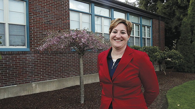 Jennifer Kubista is eager to make connections with administrators, teachers, students and the community.