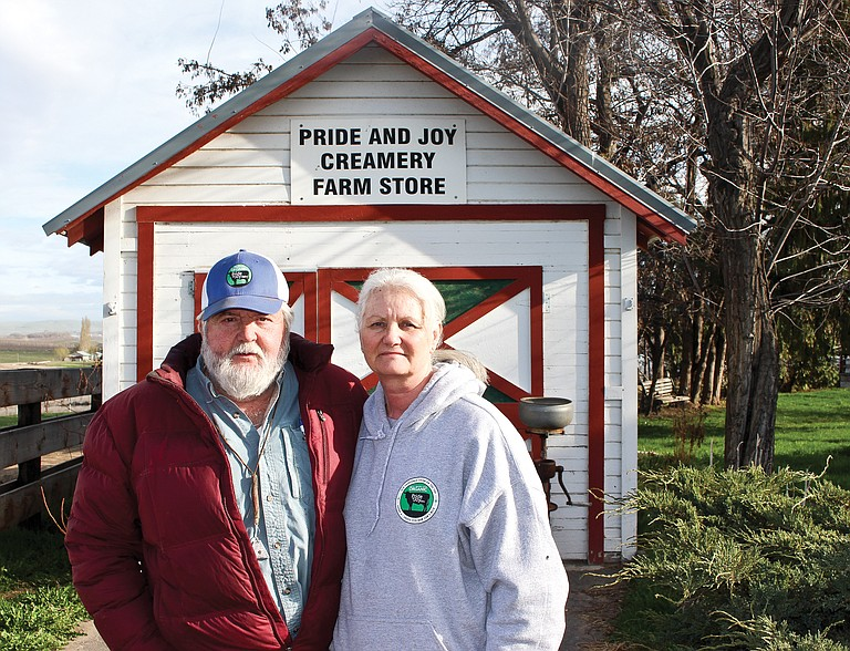Allen and Cheryl Voortman own and operate Pride and Joy Creamery near Granger.