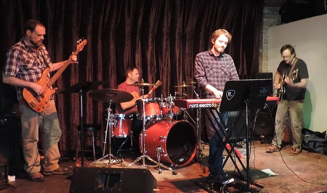 Gorge band Oakenfir plays Thursday at the Chamber of Commerce Business After Hours event at Underground Music Station in Hood River.