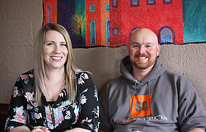 Tim and Rachel Brown named their business, Skycam Construction, after their two sons, Skyler and Cameron.