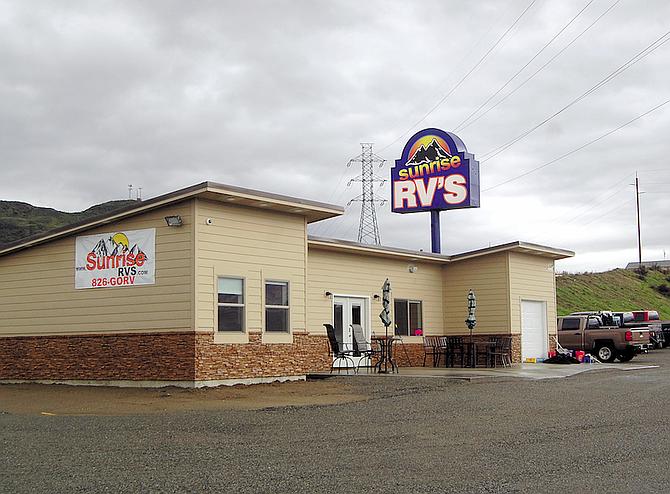 Sunrise RVs, located at 1004 Roala Avenue, opened April 1.