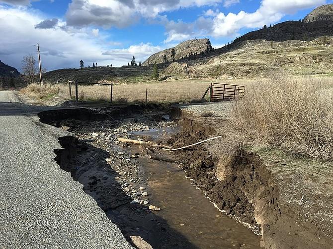 North Omak Lake Road.