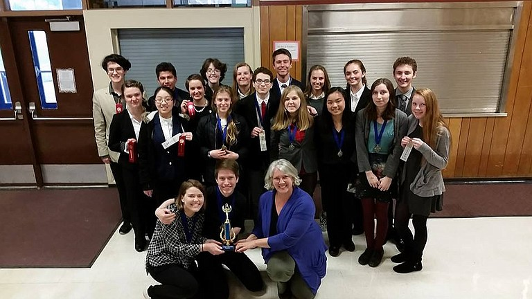 HRVHS team will send 18 competitors in 22 events to the State Championships on April 20-22 to be held at Western Oregon University.