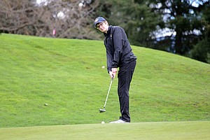 Alden Gendreau was the top finisher for HRV boys (133) during Monday's match, the only one scheduled at home.