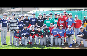 The Dalles and a handful of Hood River Valley Little League 12-year old baseball players received honors and recognition for their years of hard work and dedication to the program at opening ceremonies held Saturday at Kramer Field in The Dalles.