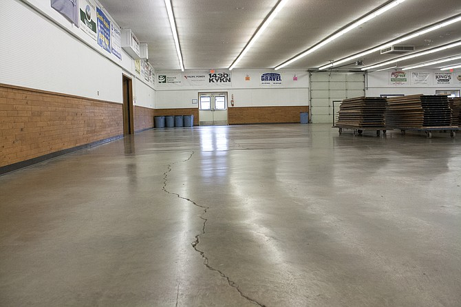 A 10-year, $10 million bond would pay for repairing issues like cracked and uneven floors in the Polk County Fairground main building.