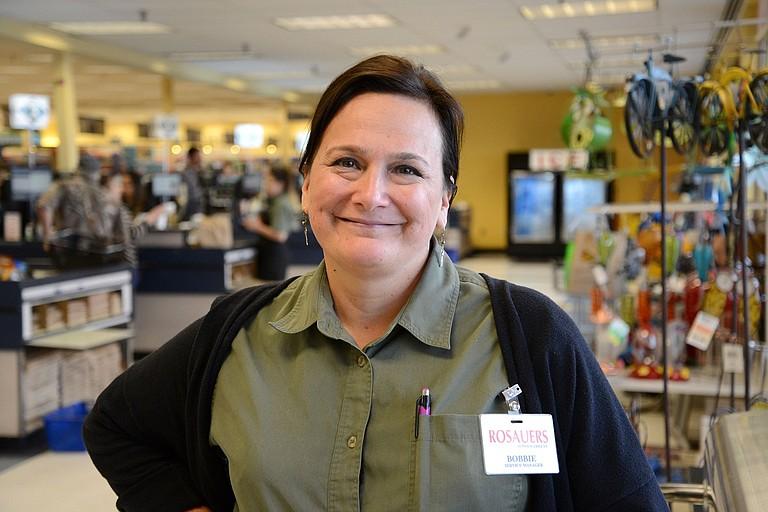 Bobbie Phillips, service manager, Rosauers.