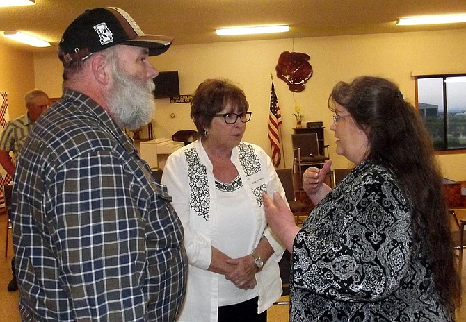 "A ""Meet the Candidates"" forum was held Tuesday, May 9, at the Grangeville Senior Citizens Center on the Truck Route. The event was sponsored by the Grangeville Chamber of Commerce."