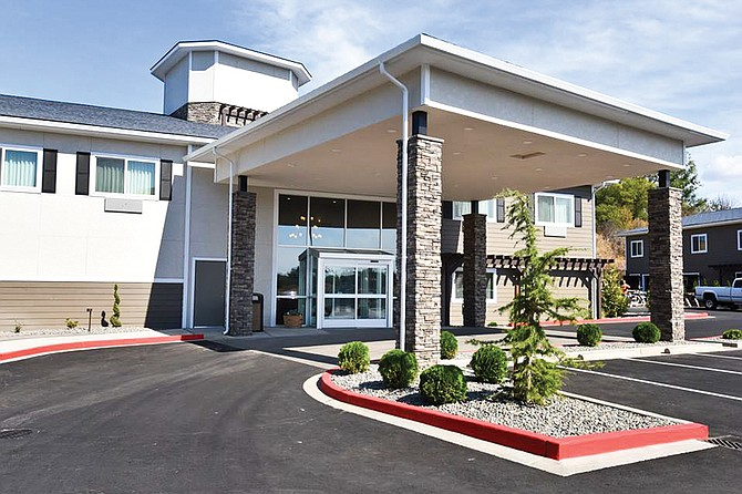 Improvements at the Best Western Plus in Zillah over the past year includes a new exterior, as well as upgrades to rooms and the breakfast area.