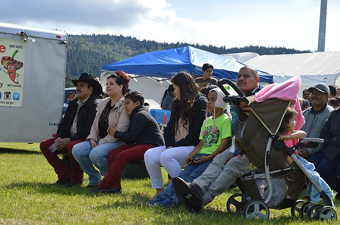 Hundreds braved chilly Mother's Day weather on Sunday to attend the first-ever Hood River Latino Festival at the fairgrounds in Odell.