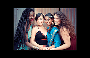 Women of the World performs at The Dalles High School on Wednesday, May 17.