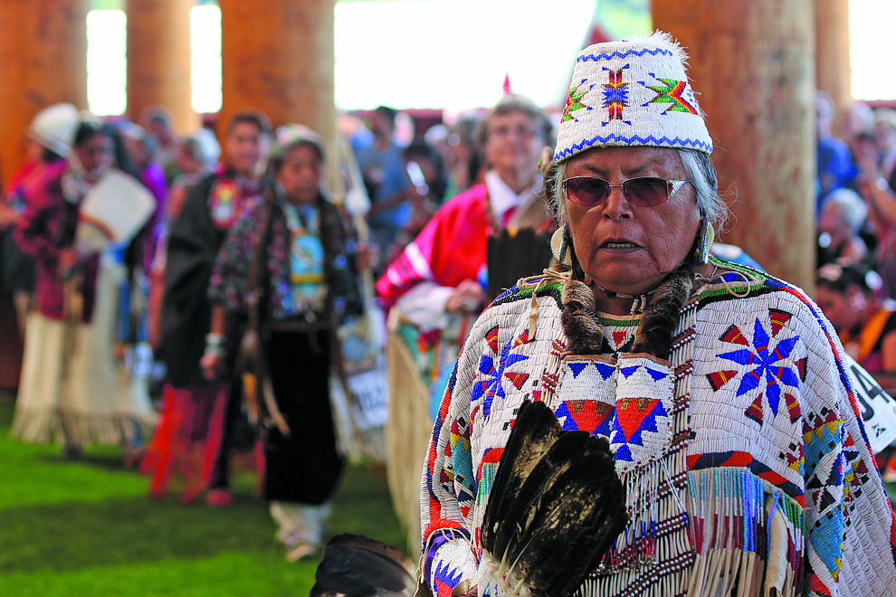 The Confederated Tribes of Grand Ronde host powwows throughout the year.