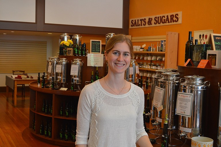 AROME owner Janice Bell wants to connect with local suppliers for her highly aromatic shop on Oak Street in Hood River.