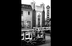 The Granada Theater as it appeared in 1938.