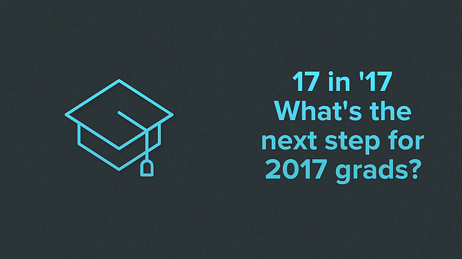 What's the next step for Class of 2017 graduates?