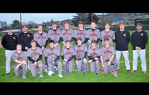 The Sherman baseball team nearly put up identical numbers from a season ago, with four more league wins, one more win overall, and a quarterfinal state berth, and as a result, eight players picked up Blue Mountain Conference honors, including five first-team winners.