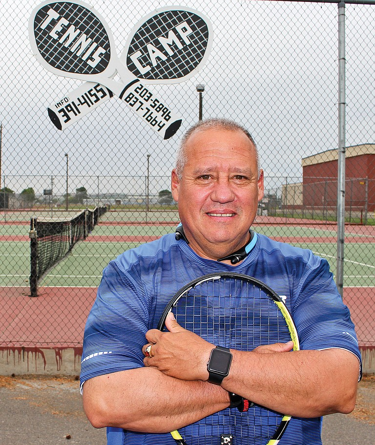Lower Valley Tennis Club coach John Rodriguez seeks students for the club's summer sessions of lessons to be played on the South Hill Park courts beginning June 27.