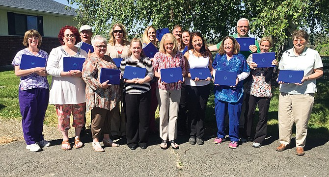 A $6,928 Edgar Whitehead grant to Heartlinks Hospice and Palliative Care is providing staff with new touchscreen tablets and cases. The tablets will be used by clinicians to aid in tracking client care while they are out working in the field, officials with the non-profit said.