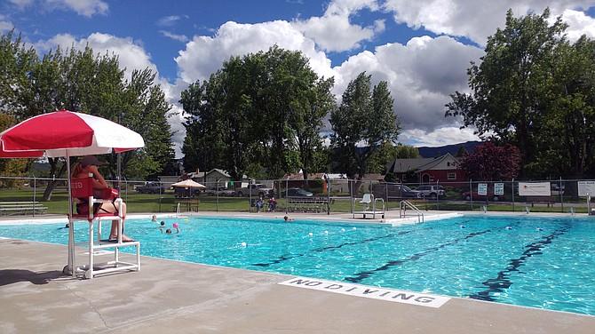 Grangeville City Pool, located at Pioneer Park on East Main Street.