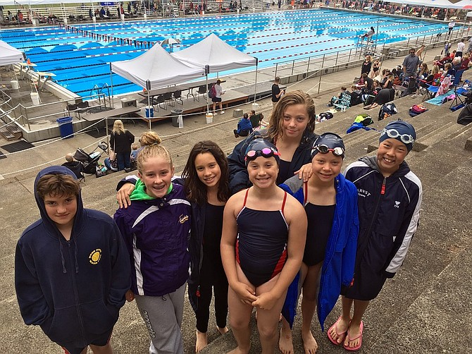 Hrvst osprey swimmers post state qualifying times at howard jones invitationals in gresham for Mt hood community college pool open swim