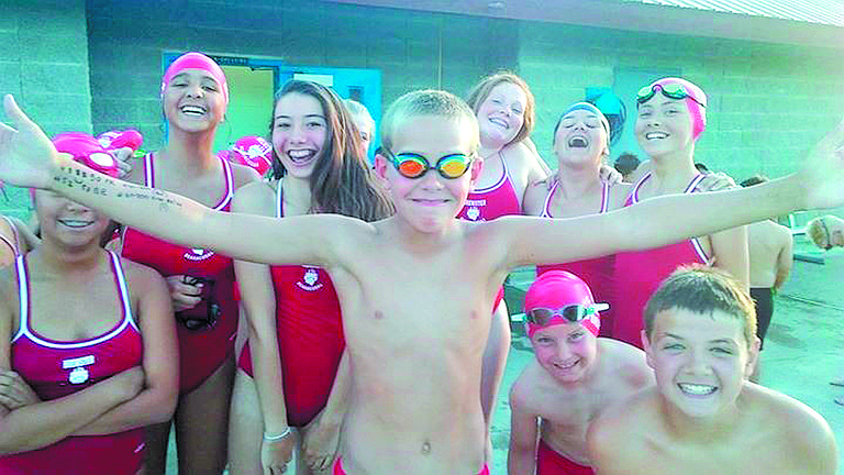 Bearacudas swimmers from Brewster  competed at Okanogan on Thursday.