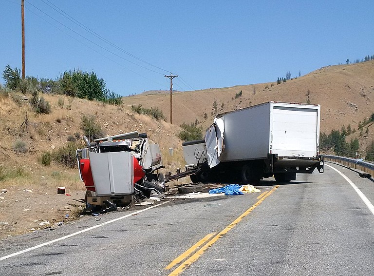 Highway 153 is closed at milepost 8.6, just north of Burma Road due to a fatal vehicle collision.