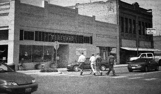 2007: Thanks to matching grants and state funds, Grandview's downtown area was slated to get a new look.