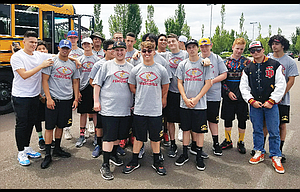 The Dalles football team participated in its annual team camp last weekend at Linfield College in McMinnville. TD head coach Steve Sugg had a group of 20 kids attended this weeklong training session with 16 other teams and more than a 1,000 athletes hailing from the 6A to 3A ranks out of Oregon, Washington and California. Mac Abbas, Dalles Seufalemua and Opath Silapath picked up All-Camp awards for their all-around effort.