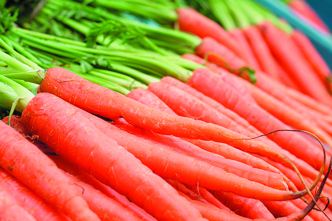 Harvest carrots and other vegetables in fall by sowing in July and August.