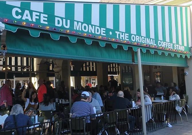Cafe du Monde is the place to go for beignets and café au lait.