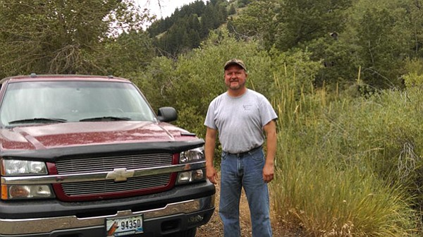 """Facebook photo John """"Randy"""" French is seen here next to his truck in this undated photo."""