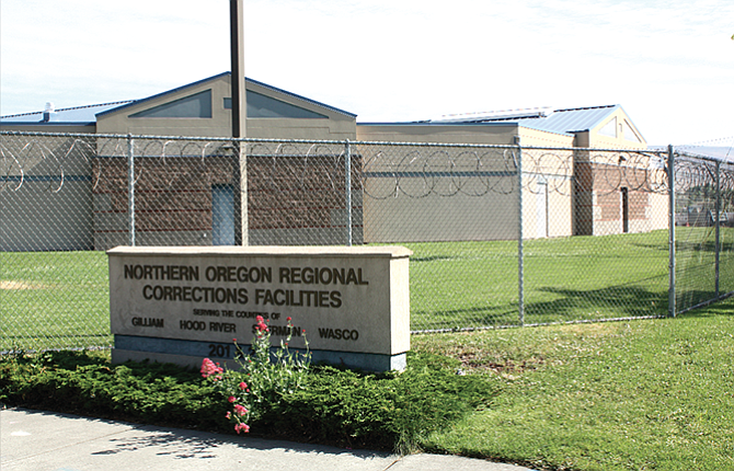 Funding for the Northern Oregon Regional Corrections Facilities in The Dalles is currently under discussion.