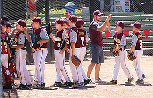 The Dalles Little League 10U All Stars ended up with a 2-2 overall record at the Oregon State Little League Championships in Portland, falling to Sprague by a 16-6 margin Tuesday in consolation play. With a group of seven 10-years olds and six nine-year olds, and only three players with previous all-star experience, the 10U group, coached by Michael Cates, Randy Goulart and Mark Coburn, won a District 5 title and wound up state play with fourth-place honors, out of the eight-team field.