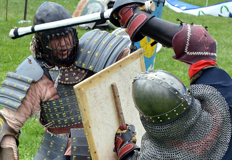 MEDIEVAL 'COMBAT' will star in an event at the Cascade Locks Marine Park on Aug. 5. The Society of Creative Anachronism will host middle ages themed fighting tournaments, and classes on combat and art.