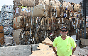 A&P Recycling owner Paul Lepinski pointed out that his six-month deadline to put up fencing included 72 straight days with heavy snow on the ground, and otherwise the work probably would have been done. Lepinski has fencing materials on site and plans to install the fence soon.