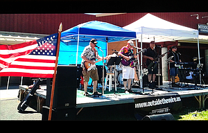 "Local band ""Got Your Six,"" performs July 15 at the Veteran Resource Fair in Redmond in their quest to support causes that help military families."