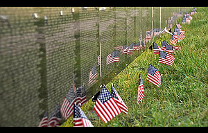 The Wall That Heals, a traveling half-size replica of the Vietnam Veterans Memorial in Washington, D.C., will be set up in Goldendale from Aug. 31 to Sept. 3. The monument will be on display 24 hours a day at the Klickitat County Fairgrounds, with an opening ceremony at 2 p.m. on Aug. 31.