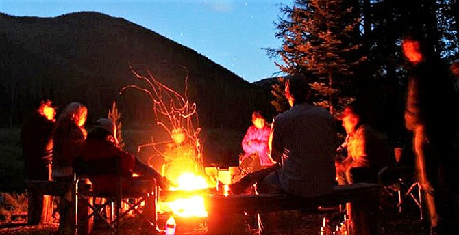 Campfires are restricted to some designated campgrounds in the Okanogan-Wenatchee National Forest.