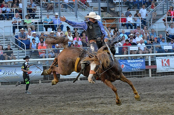 Cowboys Score Well On Rough Stock At Omak Stampede Rodeo
