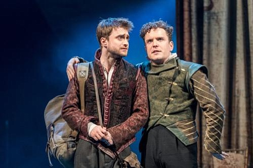 "Daniel Radcliffe (""Harry Potter""), Joshua McGuire (""The Hour"") and David Haig (""Four Weddings and a Funeral"") star in Tom Stoppard's situation comedy, ""Rosencrantz & Guildenstern Are Dead,"" broadcast live from The Old Vic theater in London."