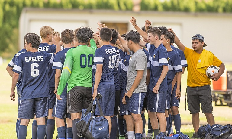 HRV boys soccer looks to bounce back after their week one loss when Hillsboro visits HR Sept. 5.